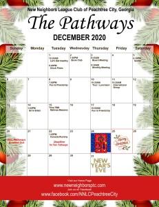 2020 December Calendar