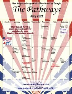 202107 July Calendar