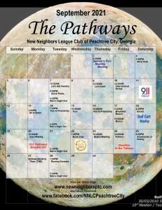 202109 September Calendar