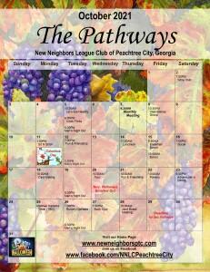 202110 October Calendar