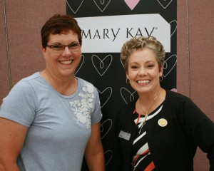 Amy Cole of Mary Kay and Debbie